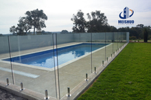 Outdoor Framless Swimming Pool Glass Handrail