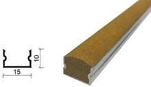 金刚砂地下室防滑坡道防滑条-15*10 mm