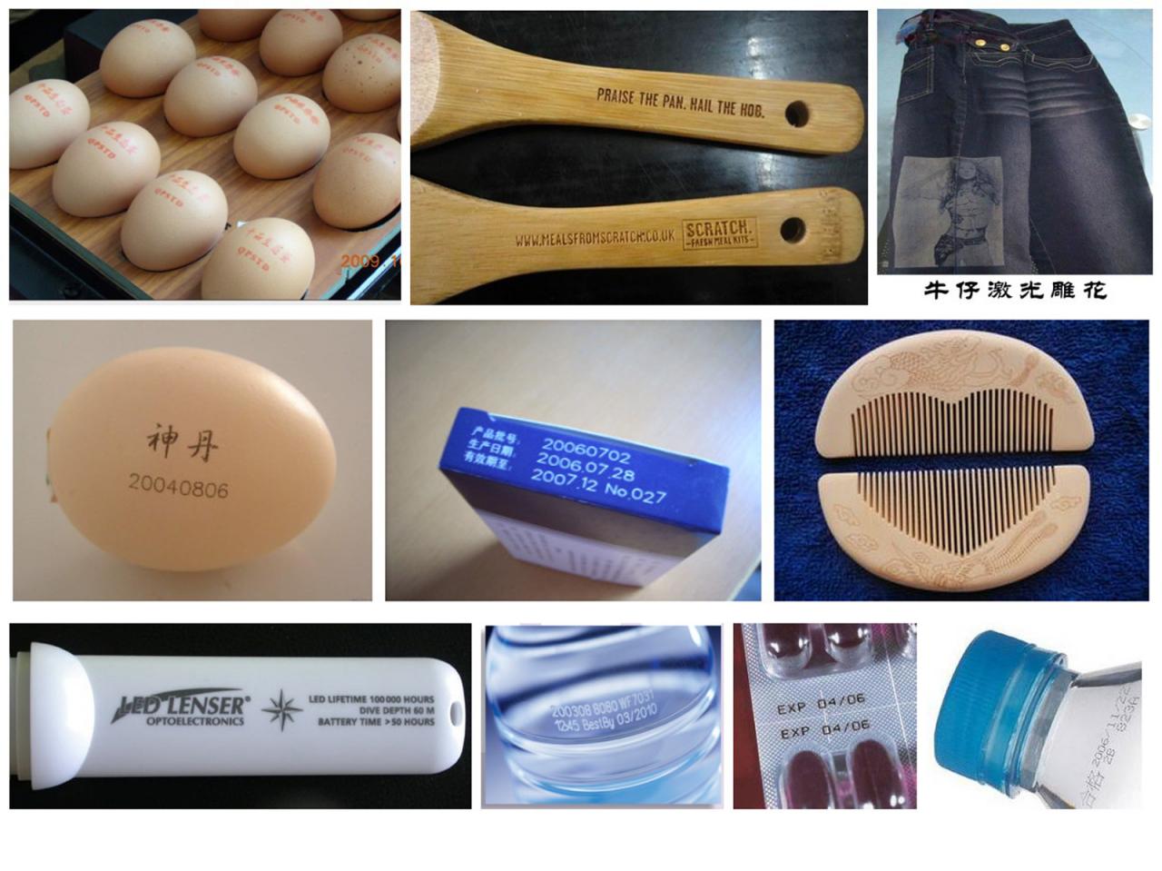 Rf Metal Tube Co2 Laser Marking Machine Buy Product On