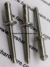 All Stainless Steel Hem-Luk Type Blind Rivet