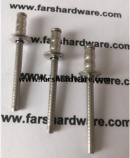 All Stainless Steel Multi-grip Blind Rivet