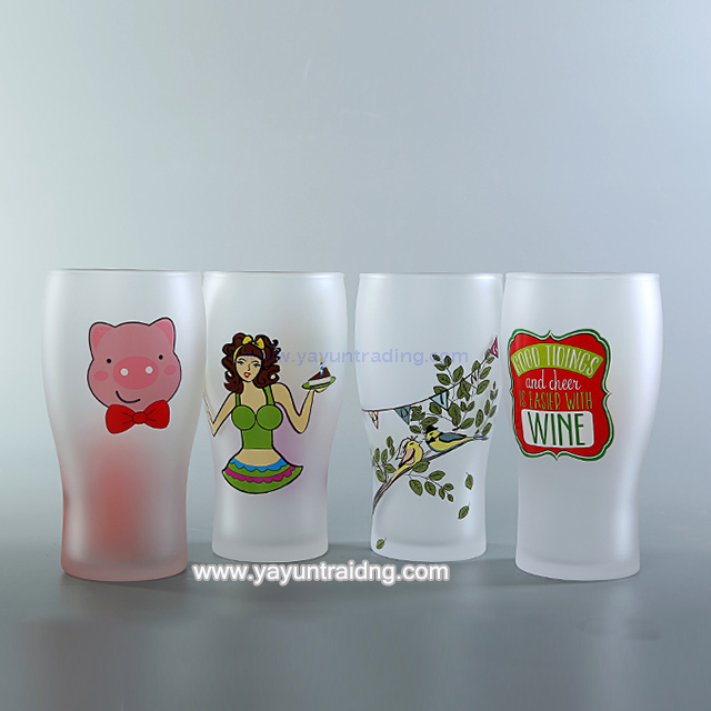 sandblasted glass tumbler1 (1)