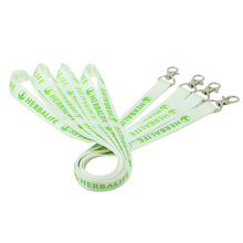 Custom simple cheap screen printed lanyards for id holder