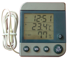 WDZ-2 Digital Indoor Outdoor Thermometer and Hygrometer
