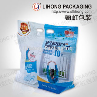 Bakery Zip Lock Packing Bag With Handle