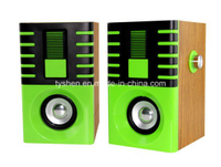 USB Speaker of Wooden Case