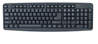 High Quality Keyboard PC, USB or PS2 Port Available (KB-051)
