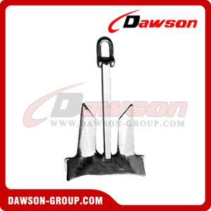 Aço inoxidável 316 AC-14 HHP Stockless Anchor / SS316 AC-14 High Holding Power sem estoque Casted Anchor
