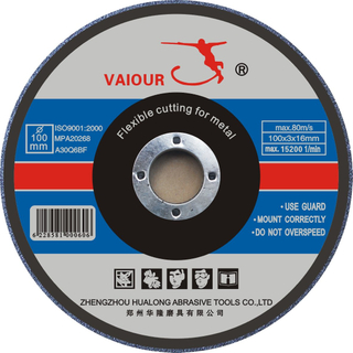 Depressed Center Cutting Disc