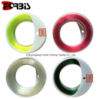 Colorful Good Tensile Force Spool Packing Fishing Line