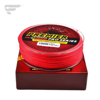 100M 4 strands braided line
