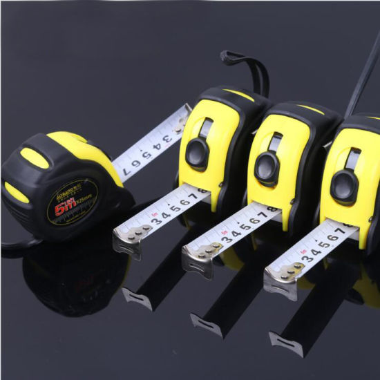 Tape Measure with a High Impact Case Spring Blade
