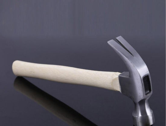 Claw Hammer with Wood Handle, Multi-Function Nail Construction Hammer