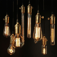 Vintage Style Bulb Lights St64 C35 C35t T45 A19 Edison Lights
