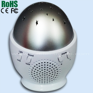 sleep therapy sound machine with natural sound and soft led light relax machine