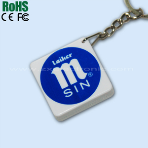 Recordable ABS Plastic Key Holder with Sound Messages Custom