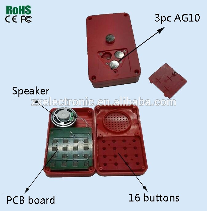 16 Buttons Sound Machine With Happy Birthday Song Funny Toys