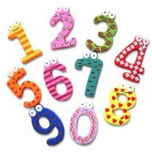 Wooden number toys