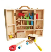 wooden tool box for children