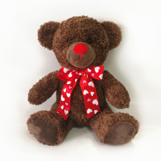Custom Teddy Bears Valentine Gifts 30cm Beautiful Rose Bear