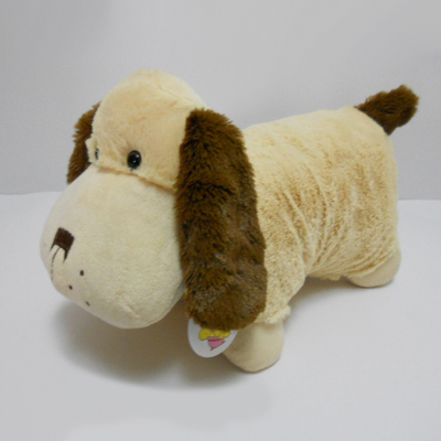 Cute Stuffed Plush Animal Baby Dog Pillow