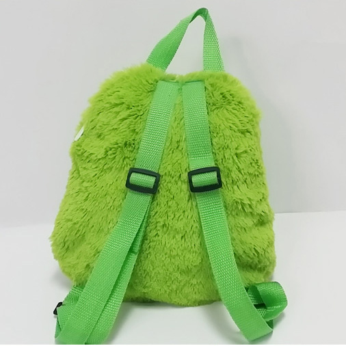 Plush Soft Cartoon Frog Toy Backpack for Kids