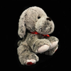 Plush Stuffed Toy Dog for Promotion with Ribbon