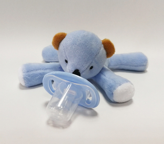 New 2018 Custom Soft Infant Pacifier Animal Bear Toys