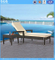 Rattan Garden Furniture Resort Pool Side Sun Lounger