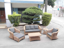 Garden Patio Wicker / Rattan Sofa Set - Outdoor Furniture (LN-3029)