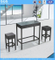 Bar Furniture PE Rattan Stools and Table