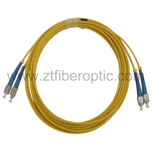 Singlemode Duplex FC-FC Fiber Optic Patchcord
