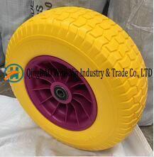 Tubeless PU Foam Tyres for Lawn Mower (16X6.50-8)