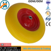 Colour PU Wheel with Steel /Plastic Rim (16*4.00-8)