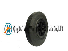 9 Inch Solid Rubber Wheel with Plastic Rim