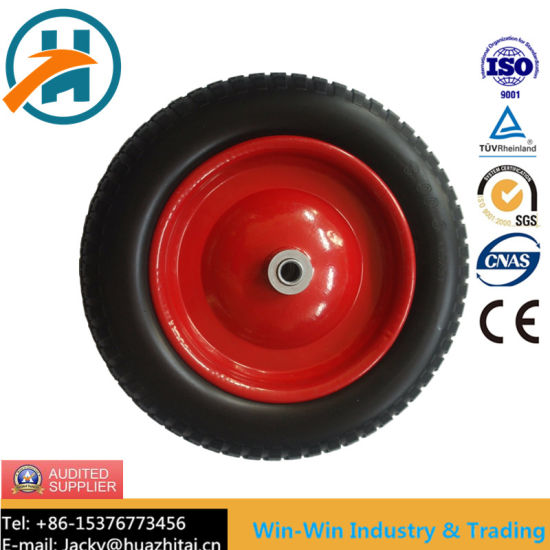 Solid PU Foam Wheel for Tool Cart (3.00-8/300-8)