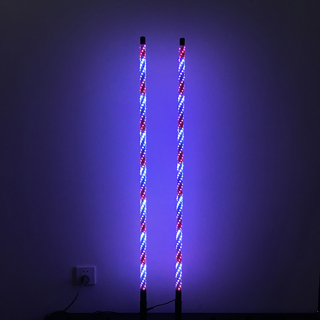 4ft Wrapped Dream Color LED Whips Sync