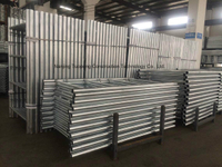Heavy Duty Frame Scaffolding for Shoring Construction