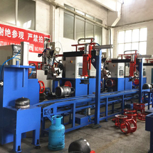 Auto LPG Gas Cylinder Manufacturing Equipments Circumferential Seam Welding Machine