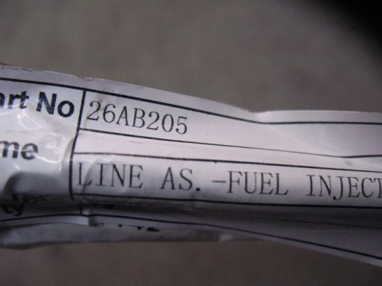 26ab206 Oil Pipe Line as-Fuel Injection C6121