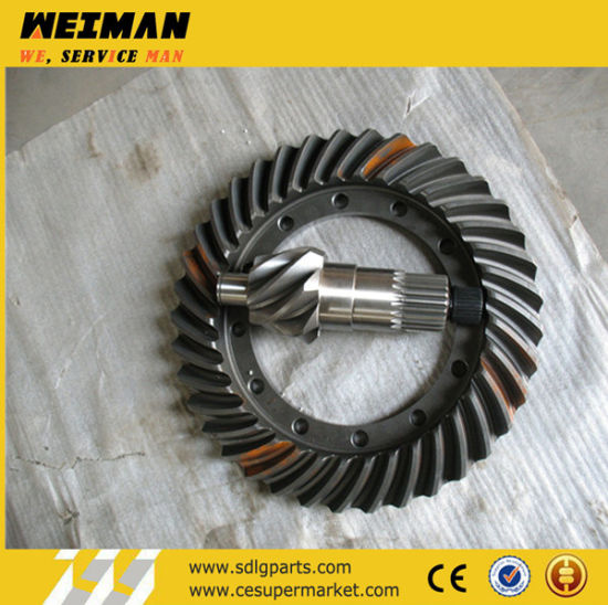 Sdlg Wheel Loader LG953nl G933L LG936L LG930 LG916 LG918 LG956 LG968 LG989 and Excavator Spare Parts Bevel-Gear-for-Loaders