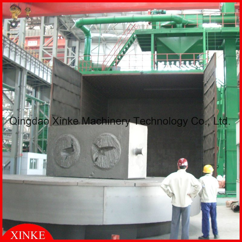 Rotary Table Type Shot Blasting Booth