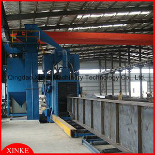 Structral Steel Grit Blasting Machine