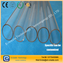 Quartz tube, quartz tube, large diameter quartz tube, high purity quartz tube