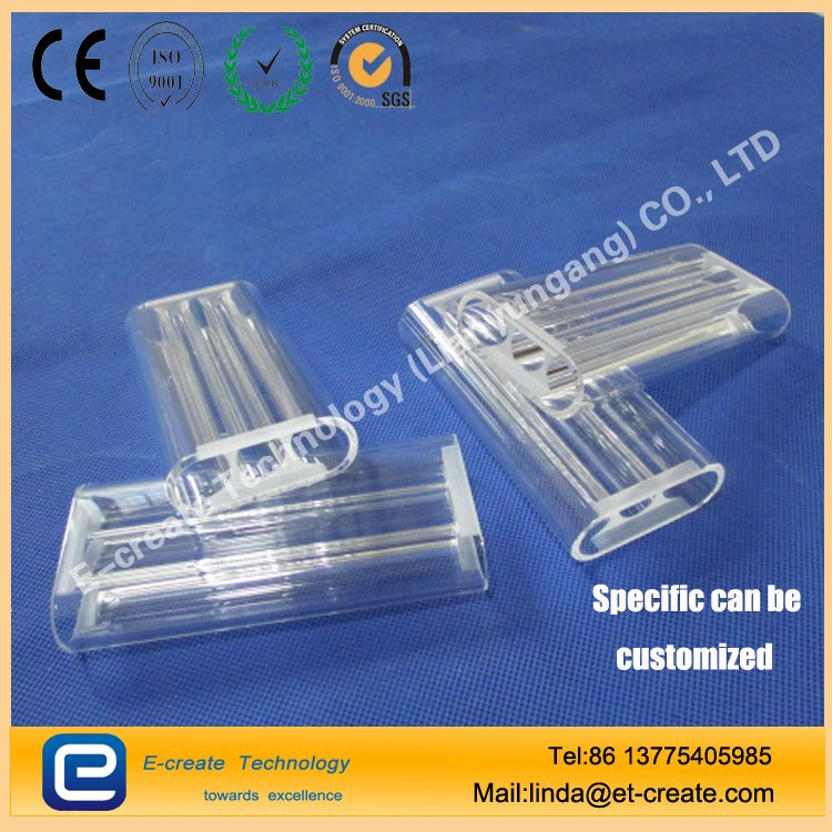 Candela Triple Bore Quartz Flow Tubes