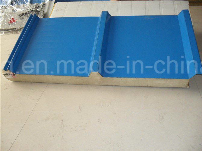 PU/EPS/Mineral Wool Sandwich Panels for Roof/Wall/Clean Room
