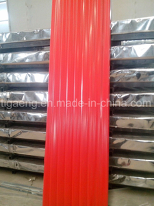 Low Cost Corrugated Colorful PPGI/PPGL Steel Roofing Plate for Tanzania