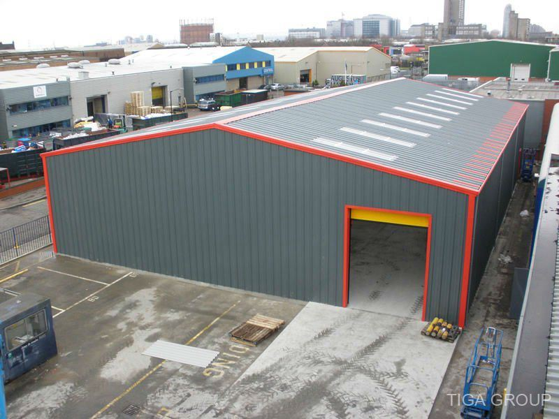 Prefabricated Steel Structure Ware House/Workshop for Sale