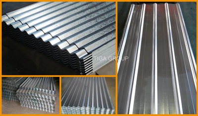 Aluzinc Corrugated Roofing Tile Galvalume Steel Sheets for Wall Cladding