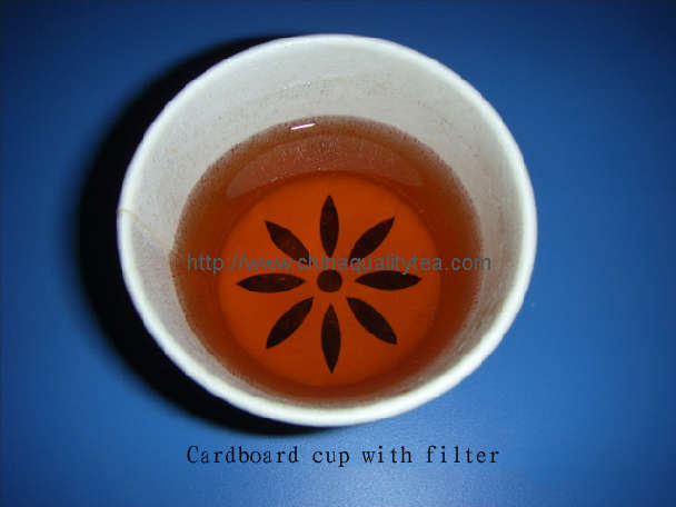 Cardboard Cup with filter
